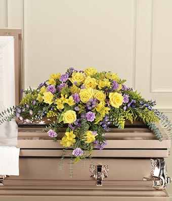 A Beautiful Tribute Casket Spray