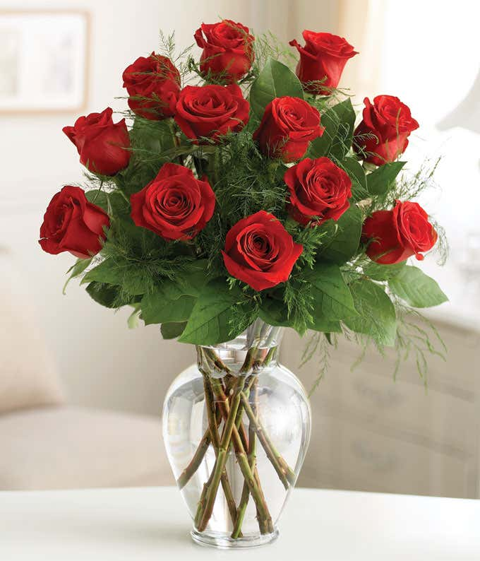 Premium Dozen Roses Red At From You Flowers