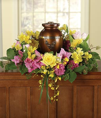 Memorial Wreath Amp Urn At From You Flowers
