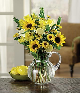 Sunny Sunflower Bouquet At From You Flowers