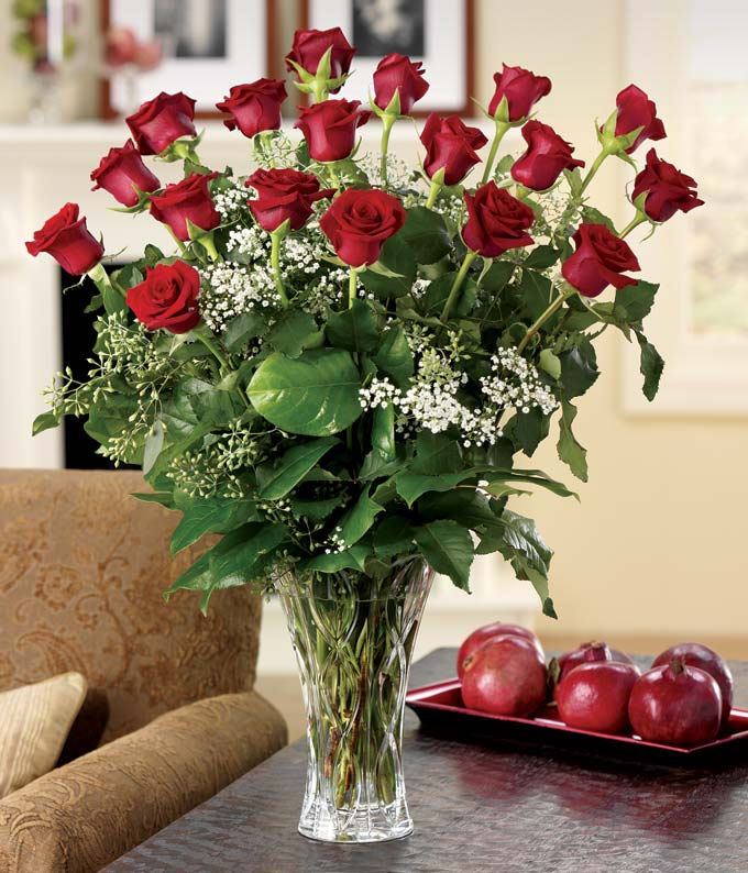 Elegant 18 Red Rose Bouquet