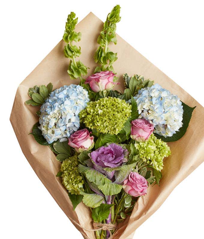 Cyan Symphony Bouquet