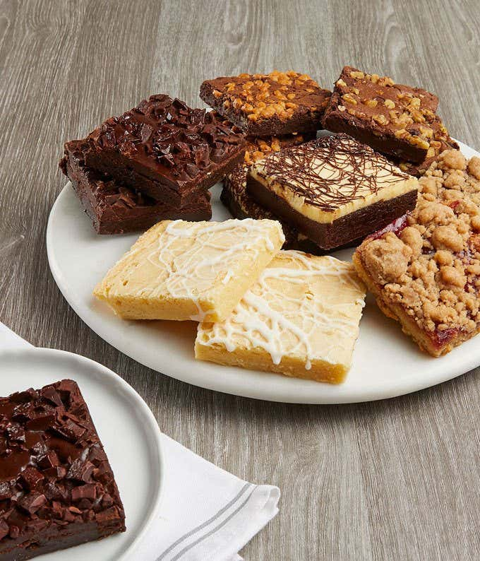 Variety of Brownies for Delivery