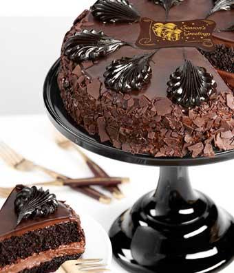 Chocolate Mousse Torte Holiday Cake