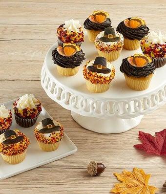Thanksgiving Mini Cupcakes