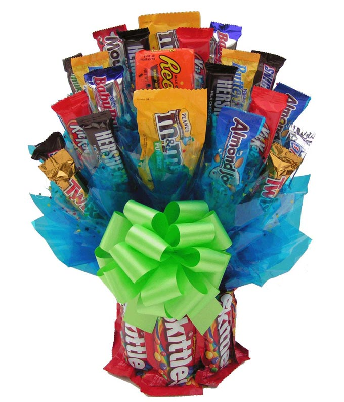 Skittles Candy Bouquet At From You Flowers