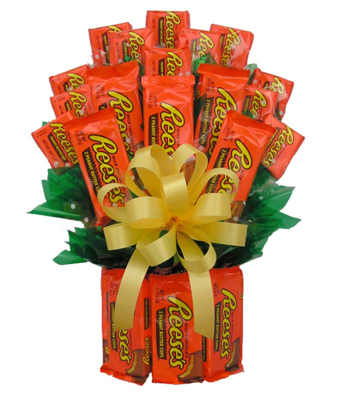 Reese's Candy Bouquet delivered