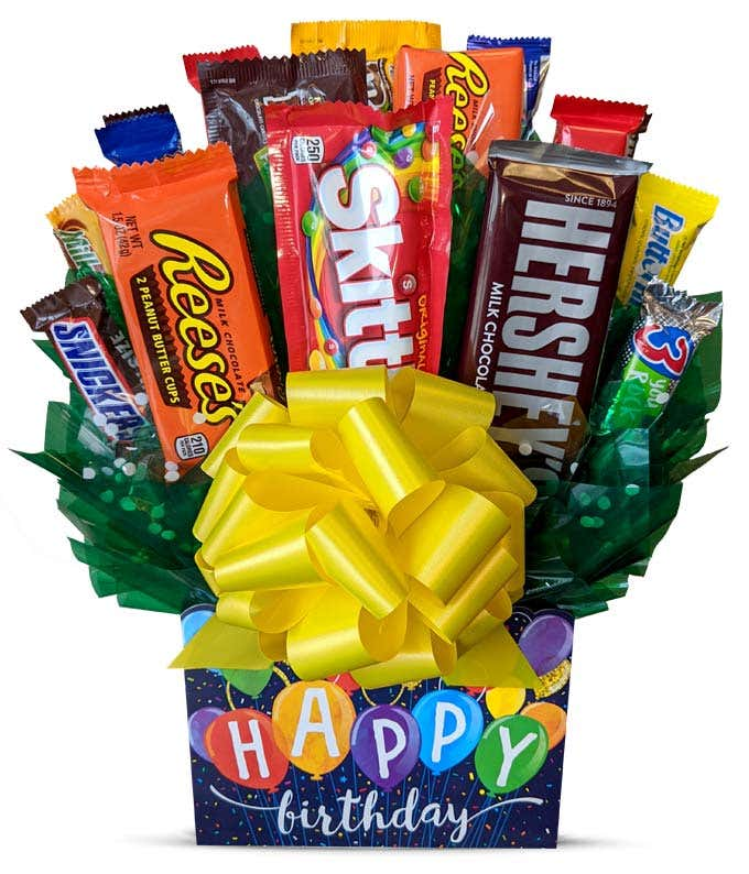 Happy Birthday Candy Bouquet At From You Flowers