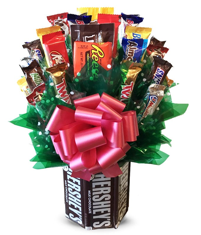 Large Candy Bar Bouquet