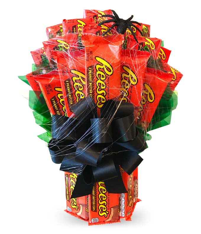 Flowers - Halloween Reese's Bouquet - Regular