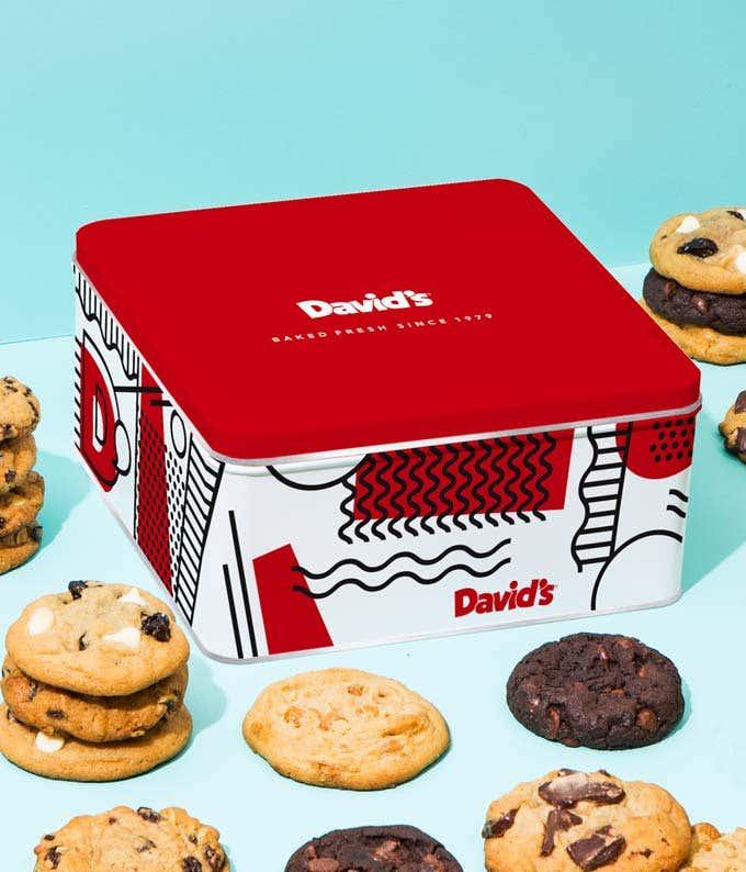 Assorted Cookies Tin - 2lb