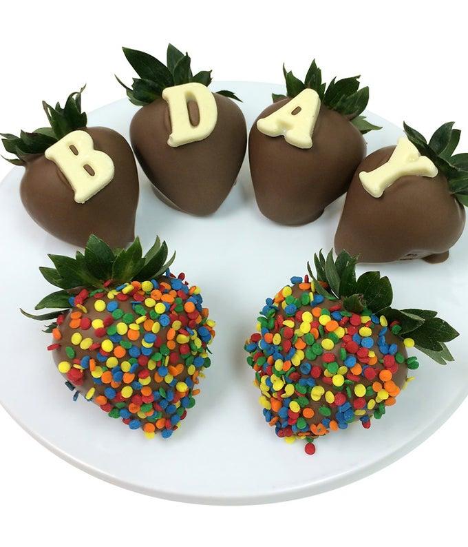 B-DAY Chocolate Covered Strawberry