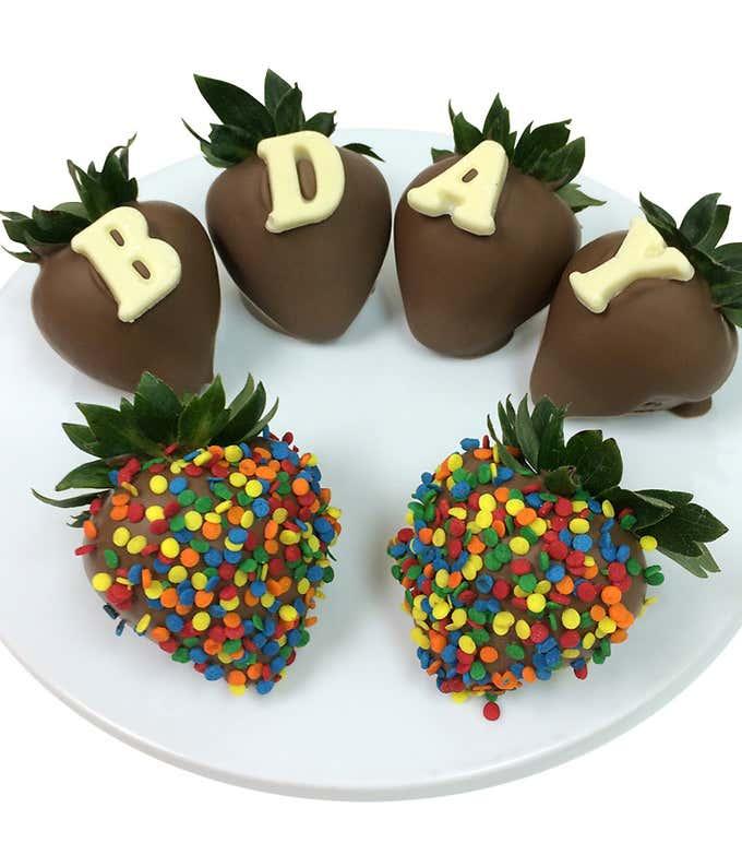 B-DAY Chocolate Covered Strawberries