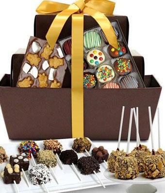 Ultimate Chocolate Snacks Fun Basket