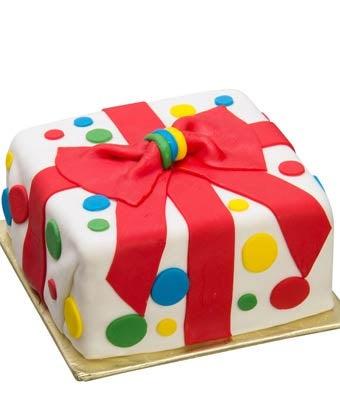 Artisan Happy Birthday Cake