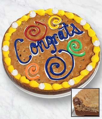 Congrats Cookie Bark Cake