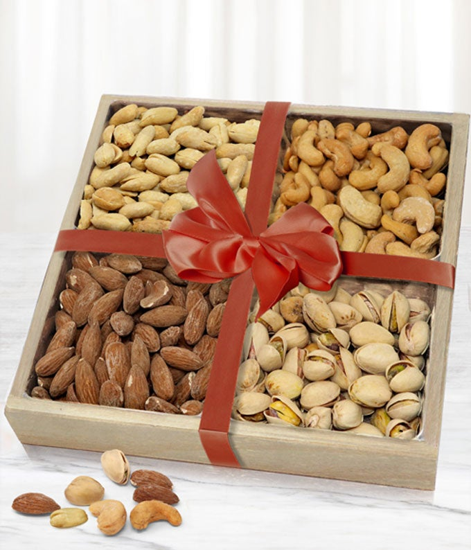 Fancy Assorted Nuts Tray