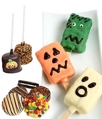 Halloween Chocolate Covered Treats Box - 12 Pieces
