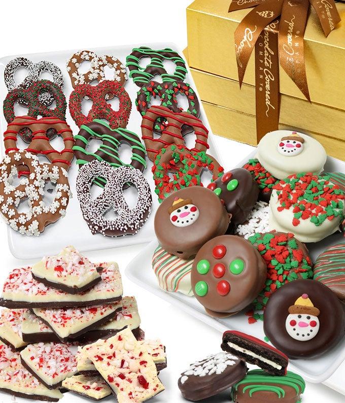 The Wondorous Chocolate Covered Gifts Basket