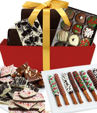 Holiday Gourmet Chocolate Gift Tray