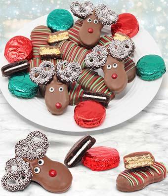 Reindeer Cookie Sampler