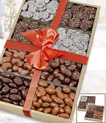Quintessential Chocolate Nut Tray