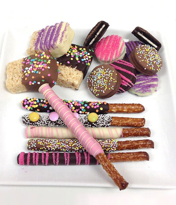 Spring Chocolate Covered Sampler - 15 Pieces