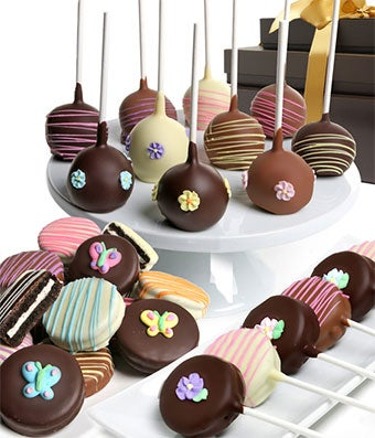 Spring Basket of Chocolate Covered Treats