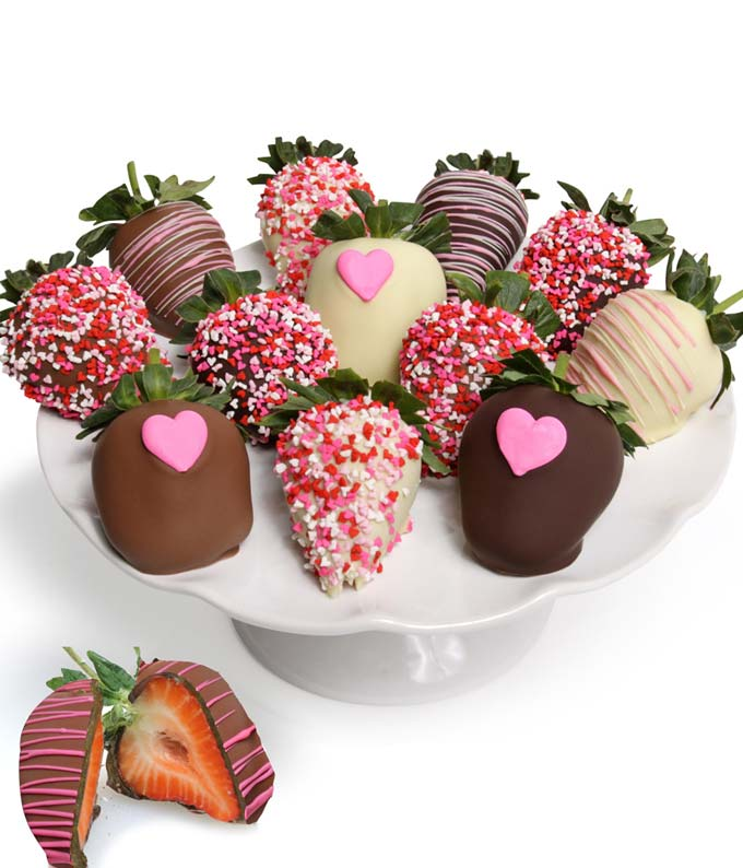 Love Chocolate Covered Strawberries - 12 Pieces