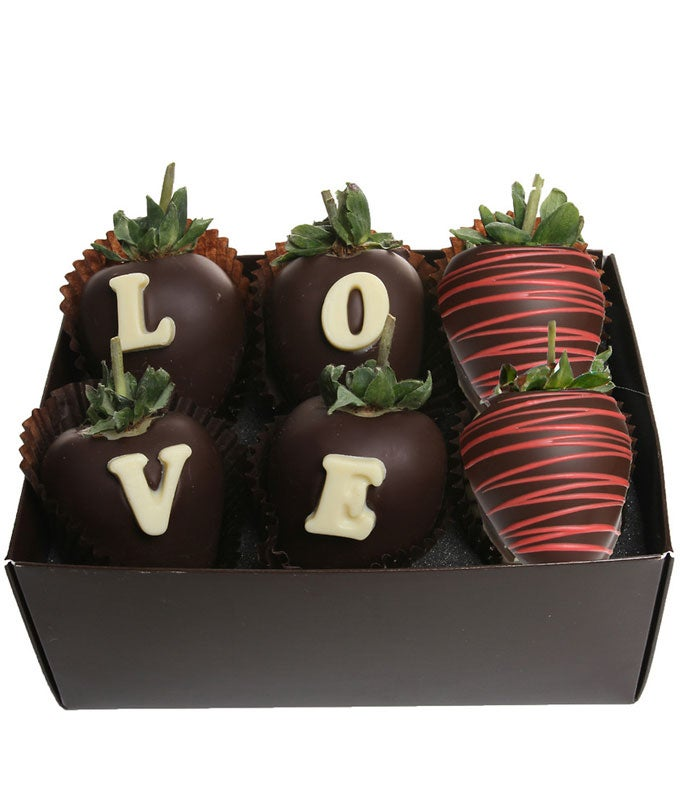 Love Chocolate Covered Berry Box