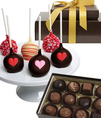 Love Chocolate Covered Cake Pops & Truffles
