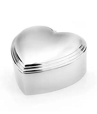 Keepsake Heart Jewelry Box