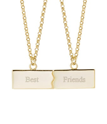 Best Friends Split Necklace
