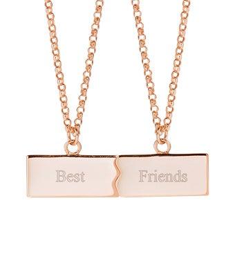 Best Friends Split Necklace