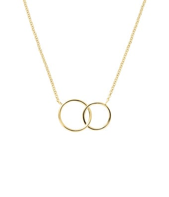Two Generation Circle Necklace