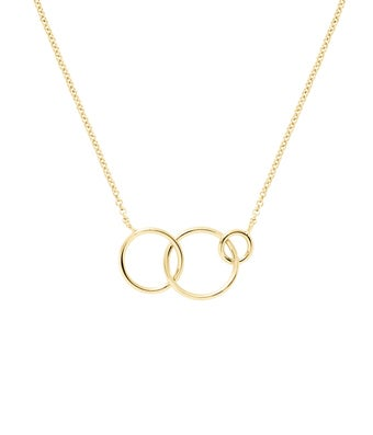 Three Generation Circle Necklace