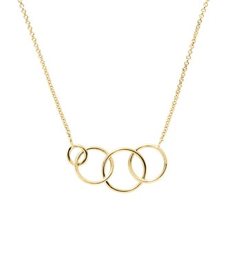 Four Generation Circle Necklace
