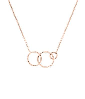Three Generation Circle Necklace