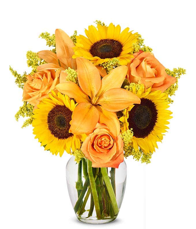 The Brightest Colors of Fall Bouquet
