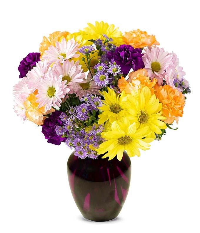 Plum Sunset Bouquet