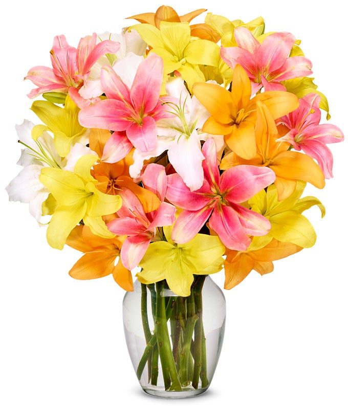 Stunning Lily Bouquet Premium At From You Flowers