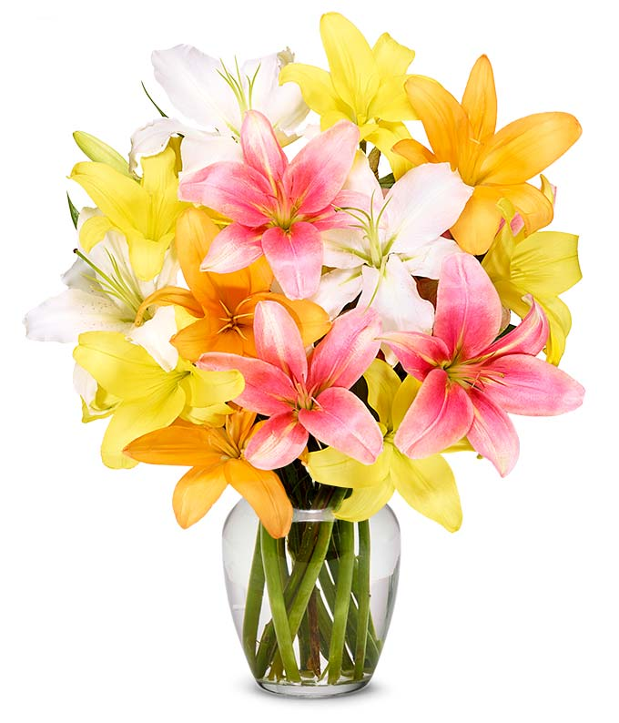 Deluxe Lily Bouquet