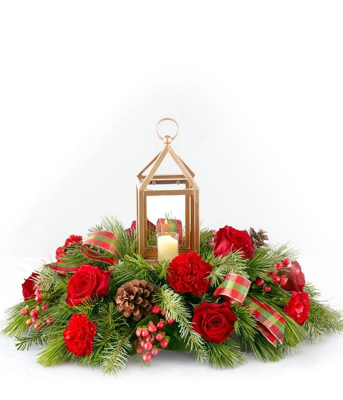 Welcome Home Christmas Centerpiece