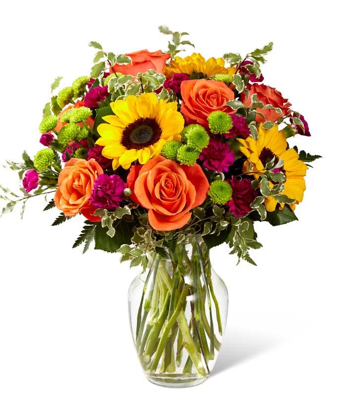 Colors of Passion Bouquet
