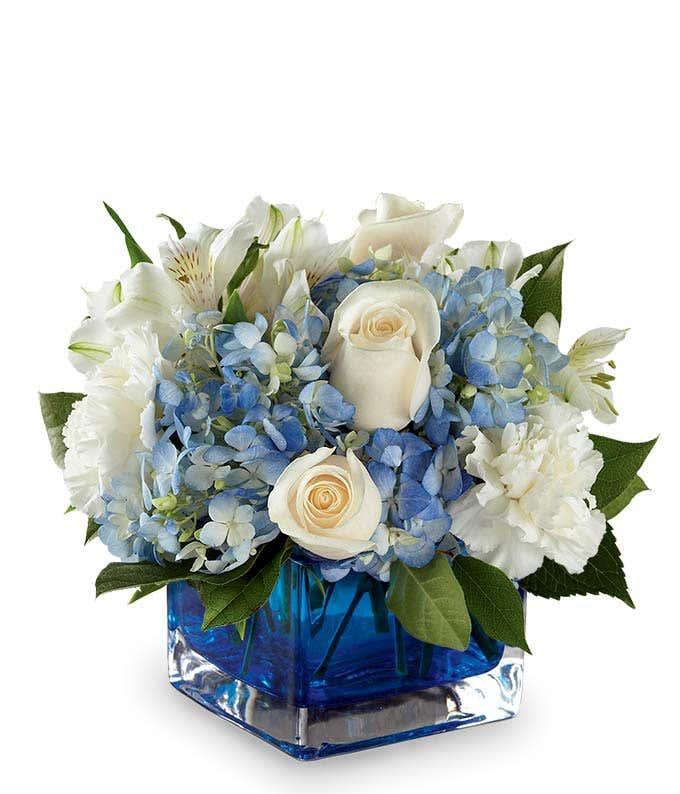 Captivating Cobalt Bouquet
