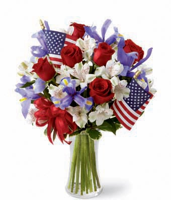 The Stars and Stripes Bouquet