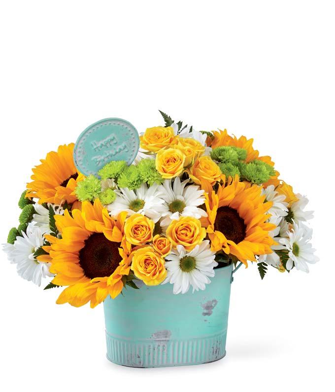 Birthday Serenity Bouquet