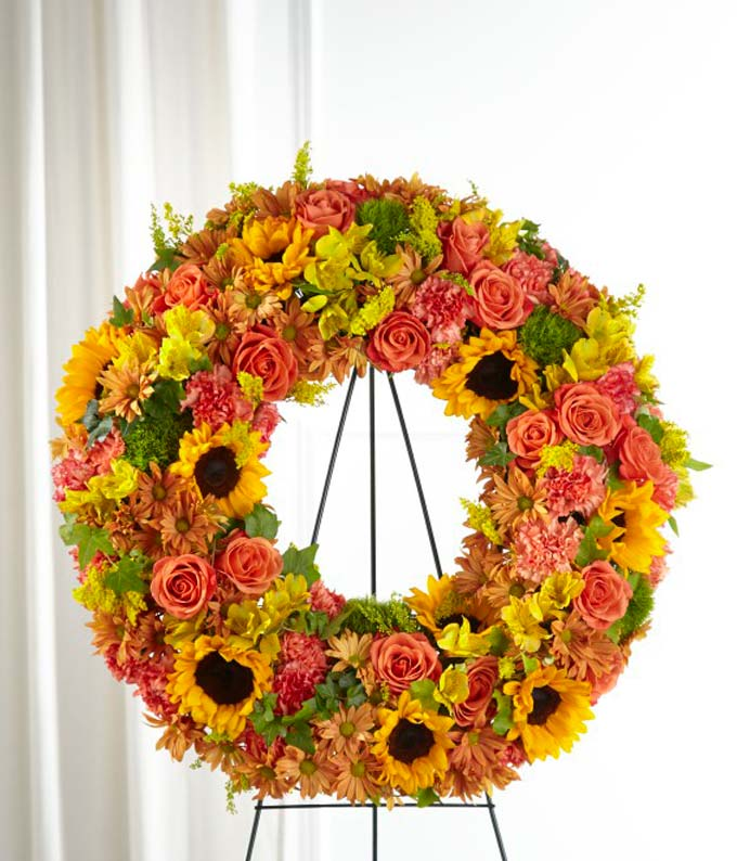 Autumn Cherished Memories Wreath