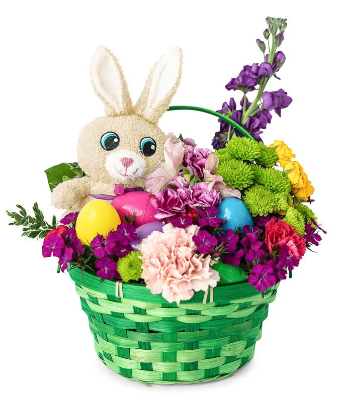 Easter Egg Hunt Basket Surprise