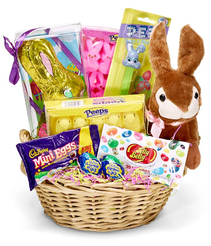 Classic easter candy basket at from you flowers easter gift basket for delivery negle Image collections